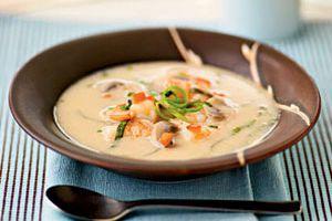 креветочный суп фото
