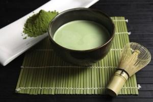 зеленый чай матча фото