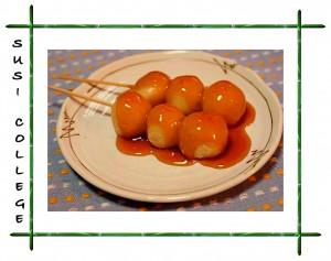 японские сладости данго фото