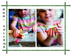 детские суши приготовление