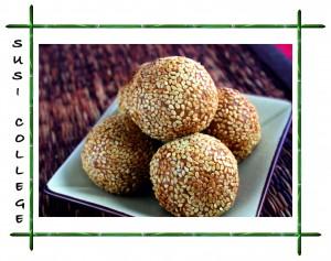 рисовые японские шарики фото