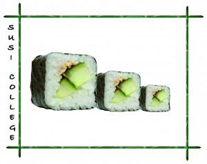каппа маки (суши с огурцом) фото