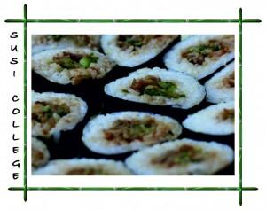 роллы суши с грибами фото