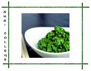 салат из шпината фото