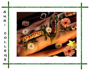 суши на теле фото