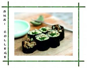 суши с грибами фото
