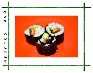 роллы суши с угрем