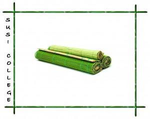 Японская бамбуковая циновка макису фото