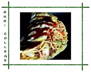 японский омлет Омусоба