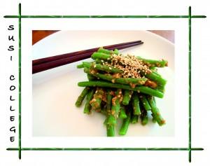 японский салат с фасолью фото