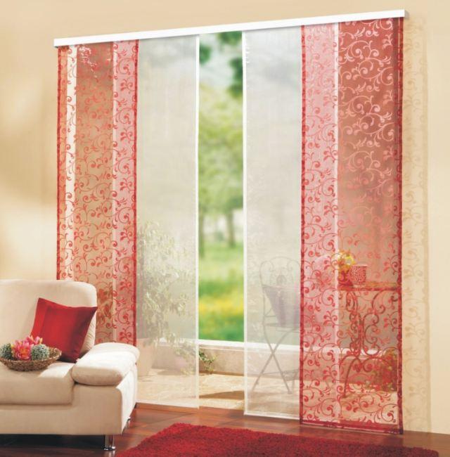 Японские панельные шторы: восточные мотивы в интерьере