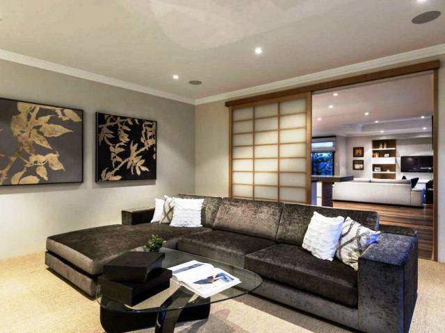 фото: диван в японском стиле - дизайнерские решения