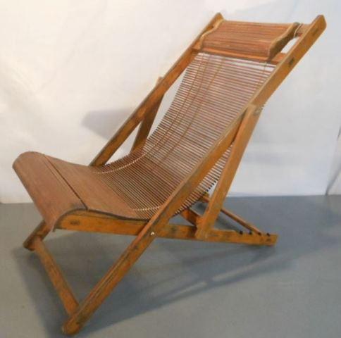 Копия японского складного кресла колониальной эпохи - фото