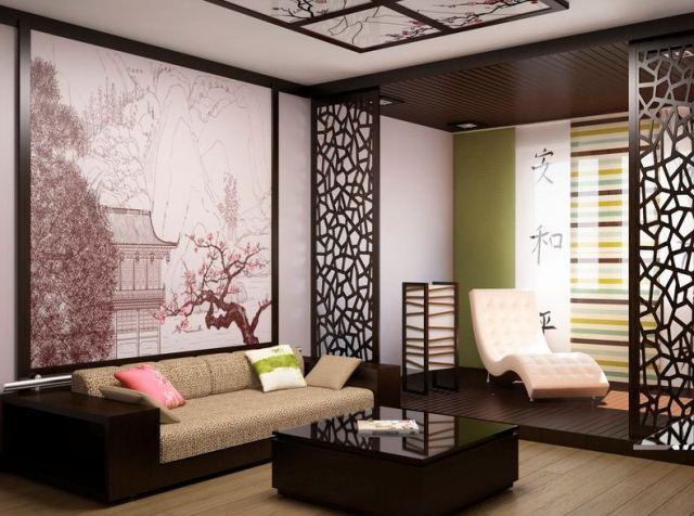 Ажурные японские панельные шторы - мода 2018