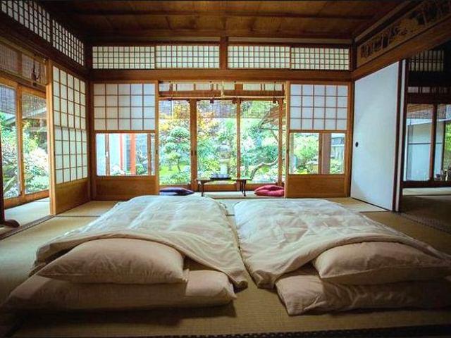 Фото: Традиционное японское место для сна