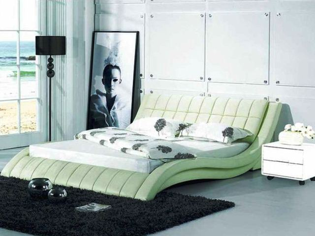 Фото: Современная кровать в японском стиле