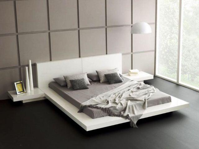 Фото: Футон на кровати